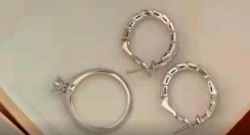 视频   粗心小姐姐遗失价值10万名牌戒指和耳环 轨交民警24小时寻回