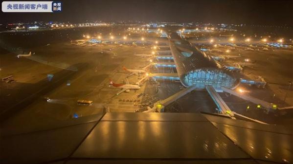 孟晚舟乘坐的中国政府包机即将抵达 机场塔台温暖喊话:欢迎归来!