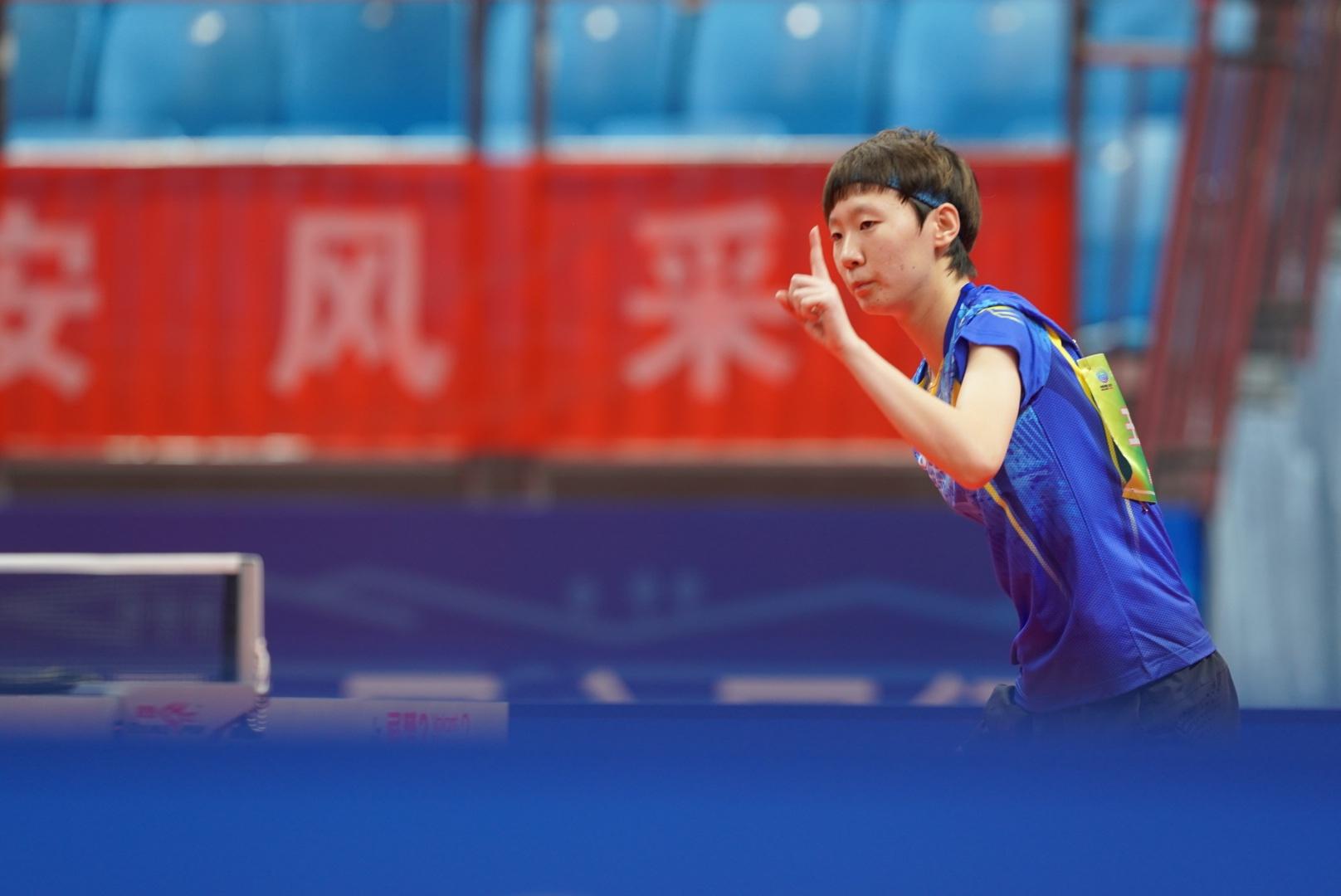 王曼昱战胜孙颖莎,获得全运会乒乓女单金牌!