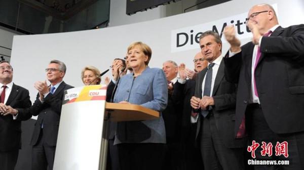 德国社民党赢得联邦议院选举 后默克尔时代等待开启