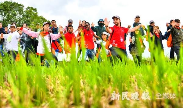 """2021""""感知中国""""上海国际学生文化体验营开营"""