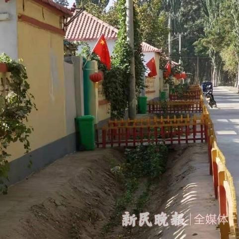 上海援疆莎车分指积极助力村居环境改善和村容村貌建设