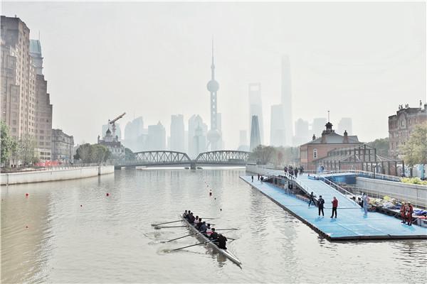 """这个周末来苏州河看""""百舸争流""""!收好这份观赛指南,还可以通过""""上海时刻""""视频号看直播呦"""