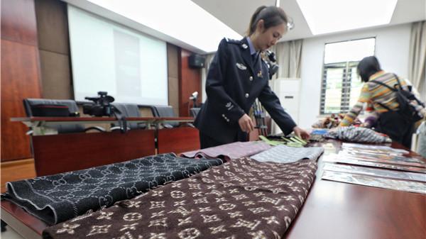 LV、Dior丝巾只卖100多?上海民警化妆外卖小哥取证,破获专业制假团伙
